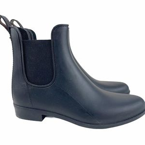 Sam Edelman Tinsley Black Rain Chelsea Booties